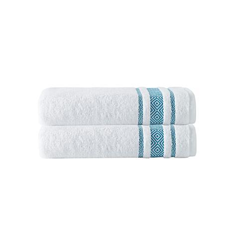 Cornellia 100% Turkish Smooth Cotton 2pc Bath Towel Set