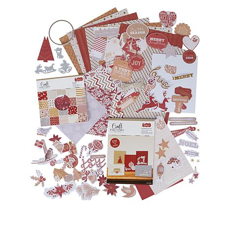 Craft Factory Creations Season to Sparkle Papercraft Kit