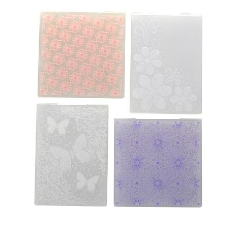 Crafter's Companion 2D and 3D Embossing Folders by Chloe