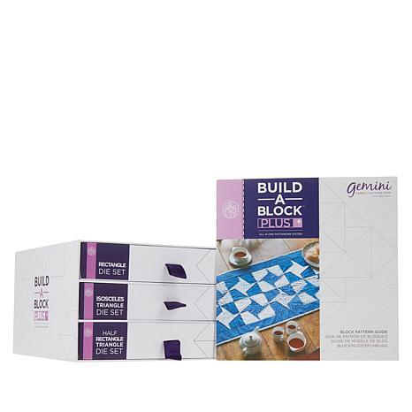 Crafter's Companion Build-A-Block Plus Quilt Dies