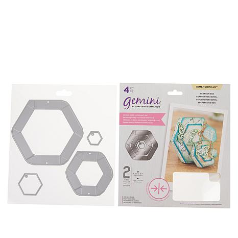 Crafter's Companion Gemini Hexagon Double-Sided Box Dies
