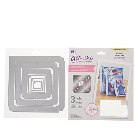 Crafter's Companion Gemini Square Double-Sided Box Dies