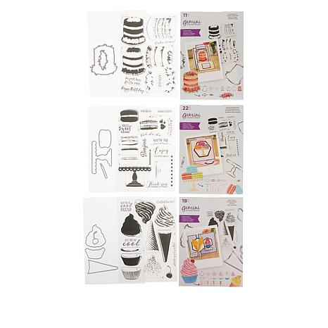 Crafter's Companion Gemini Sweet Treats  Layering Stamp and Die Set