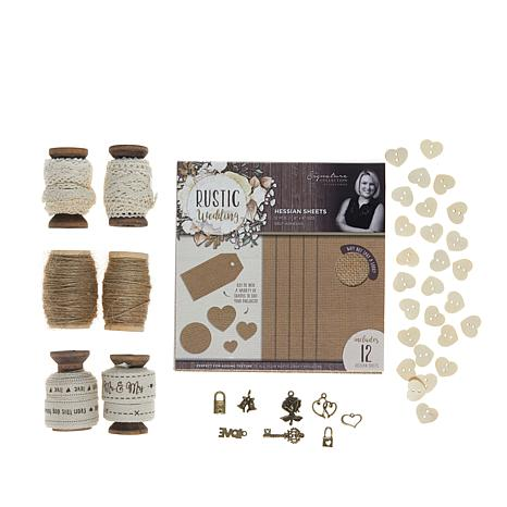 Crafter's Companion Sara Signature Embellishments - Rustic Collection