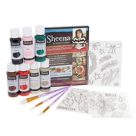 Crafter's Companion Sheena Paint Fusion Christmas Bundle