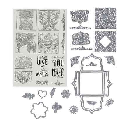 Crafter's Companion Small Ornamental Box Stamps and Dies - Auto-Ship®