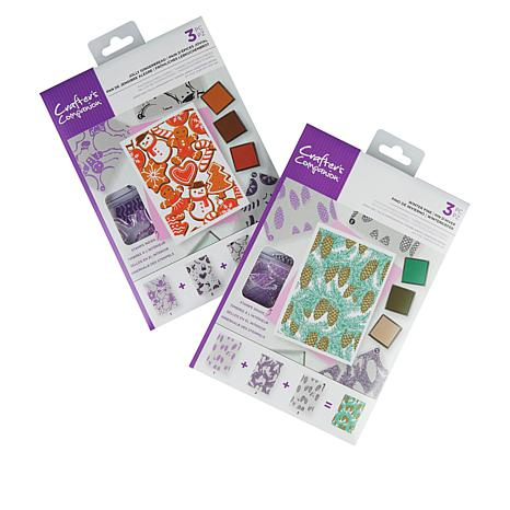 Crafter's Companion Treat Background Layering Stamps
