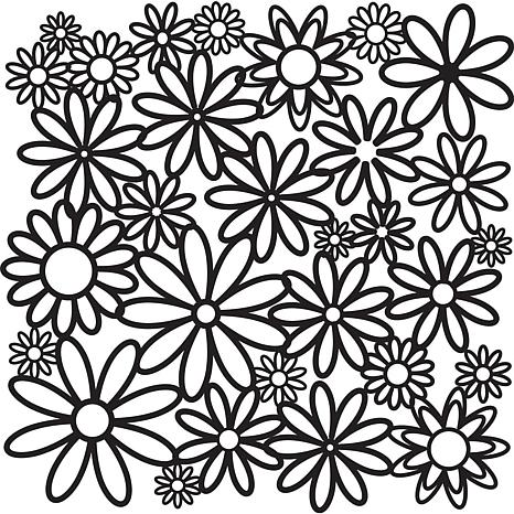 "Crafters Workshop 12"" x 12"" Plastic Template"