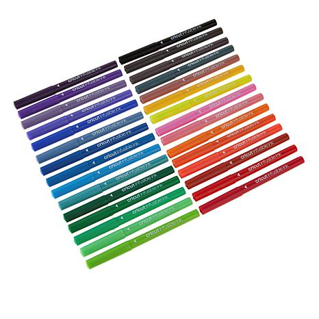 Cricut 2008025 30 Count Extra Fine Point Pens Core Variety