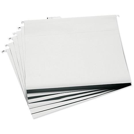 Cropper Hopper Hanging File Folders 6/Pkg - 13.25X14.75 White