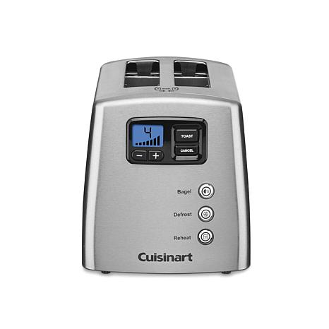 Cuisinart 2-Slice Leverless Countdown Toaster