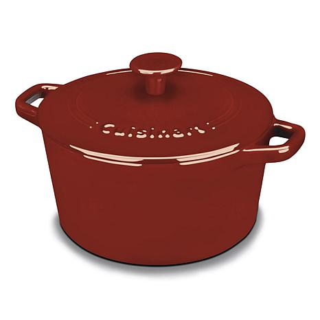 Cuisinart CI630-20CR Chef's Classic Enameled Cast Iron 3-Quart Roun...