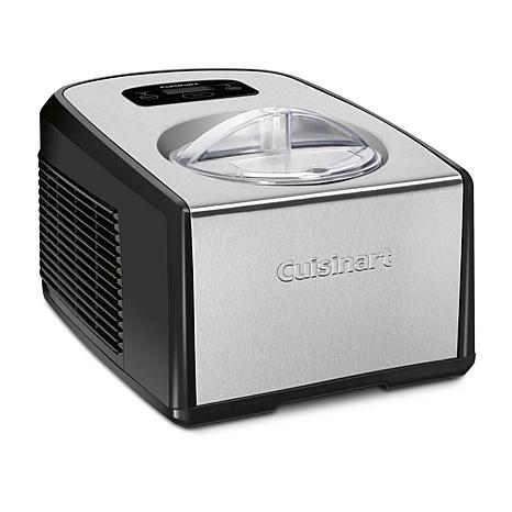 Cuisinart ICE-100 Compressor Ice Cream & Gelato Maker, Stainless Steel