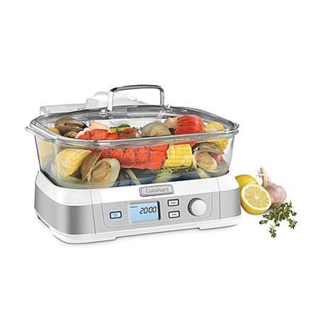 Cuisinart STM-1000 CookFresh Digital Glass Steamer - White