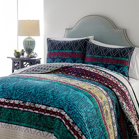 Curations Morocco 3-piece Quilt Set