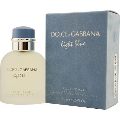 D & G Light Blue Eau De Toilette Spray - 2.5 oz.
