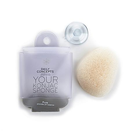 Daily Concepts Your Konjac Sponge - Pure