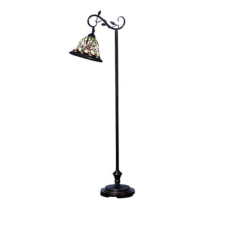 Dale tiffany dragonfly tiffany style floor lamp 8637405 hsn dale tiffany dragonfly tiffany style floor lamp aloadofball Image collections