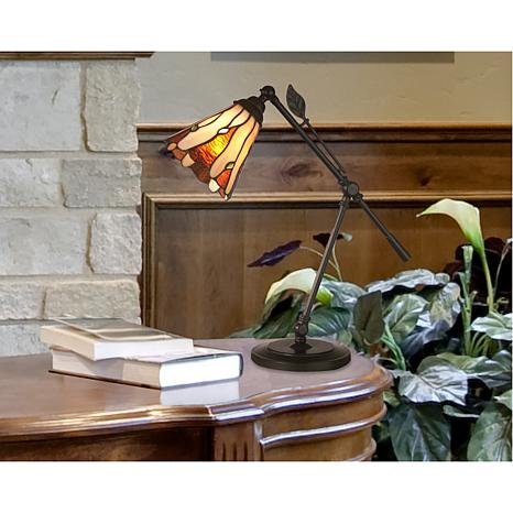 Dale Tiffany Leaf Desk Lamp