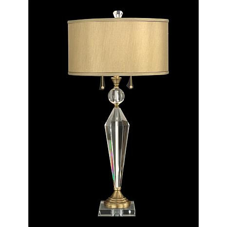 Dale Tiffany Strada Crystal Table Lamp 8300172 Hsn