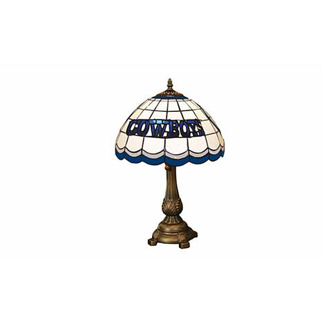 Dallas cowboys tiffany style table lamp 5693294 hsn dallas cowboys tiffany style table lamp aloadofball Image collections