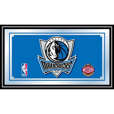 Dallas Mavericks NBA Framed Logo Mirror