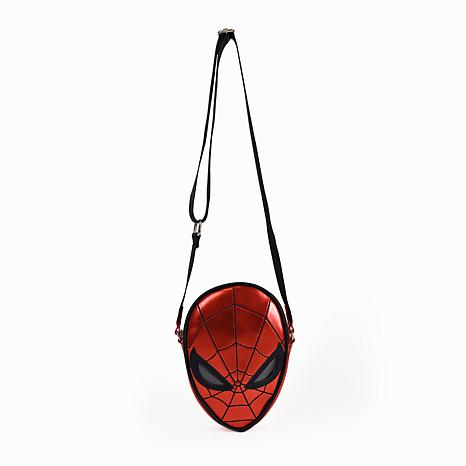 Danielle Nicole Disney Spiderman Die-Cut Crossbody Bag