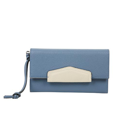 Danielle Nicole Leather Wallet with RFID Technology