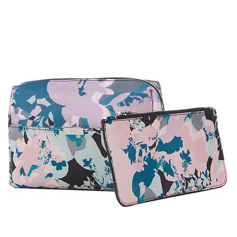 Danielle Nicole Printed Nylon Cosmetic Bag