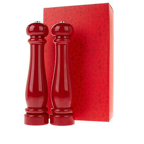 DASH Set of 2 Battery-Operated Adjustable Spice Mills with Gift Box