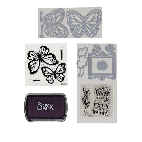 David TuteraTM For SizzixR Butterfly Stamps And Dies