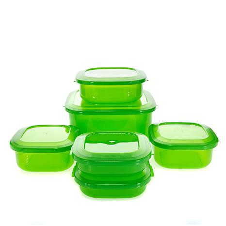 Debbie Meyer GreenBoxes™ Home Collection 12-piece Nesting Square Set