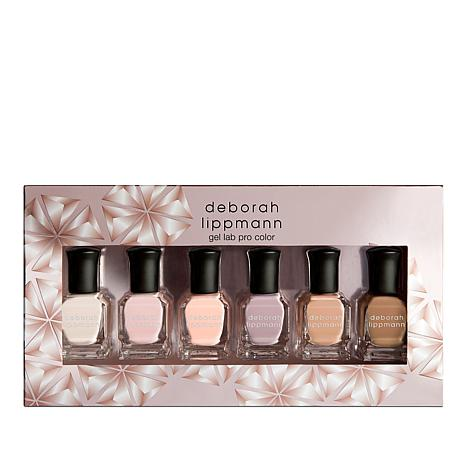 Deborah Lippmann Undressed Gel Lab Pro 6-piece Set