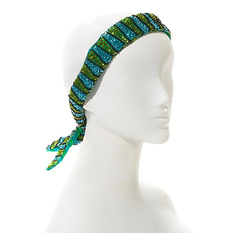 "deepa by Deepa Gurnani® ""Nichelle"" Beaded Head Wrap"