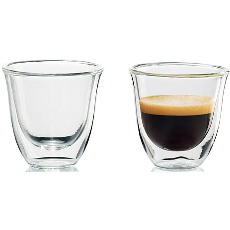 DeLonghi 2 oz. Espresso Glasses - Set of 2