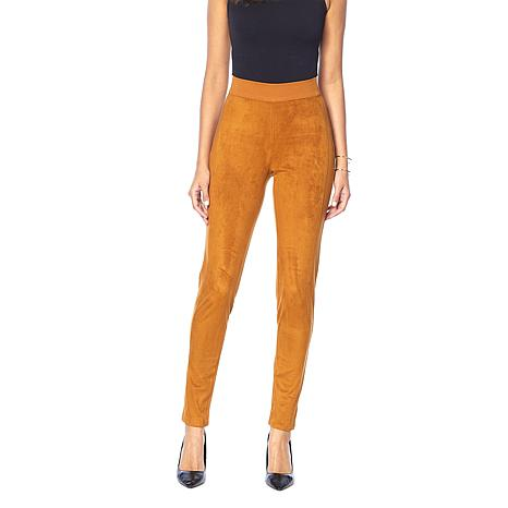 0cb4c893981ed DG2 by Diane Gilman Faux Suede and Ponte Jegging - 8805439 | HSN
