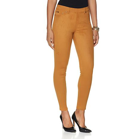 DG2 by Diane Gilman Stretch Faux Suede Jegging