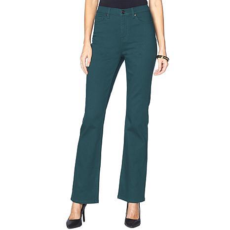 DG2 by Diane Gilman Virtual Stretch Boot-Cut Jean - Fashion