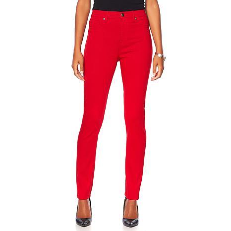 DG2 by Diane Gilman Virtual Stretch Seamless Skinny - Fashion Colors