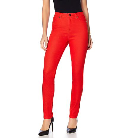 DG2 by Diane Gilman Virtual Stretch Up-Lifter Skinny Jean - Fashion