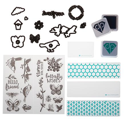 Diamond Press Nature Stamps, Dies, Inks and Folders