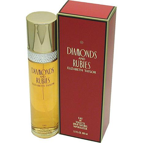 Diamonds&Rubies- Elizabeth Taylor EDT Spray 3.3 Oz