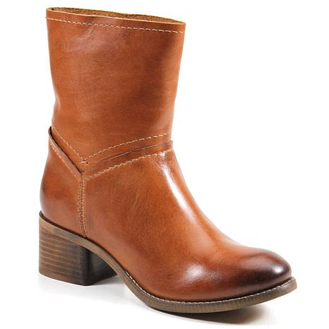 Diba True Witch Way Leather Western Ankle Boot