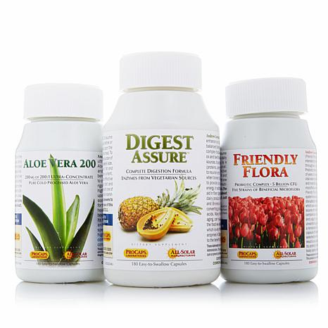 Digestion Kit Aloe Vera+ Digest Assure+ Friendly Flora