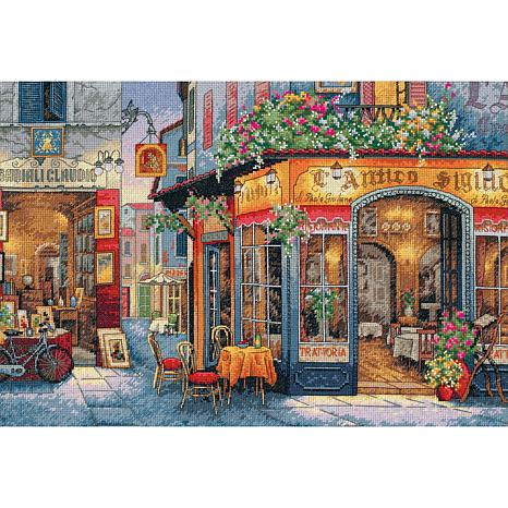 Dimensions Gold Cross Stitch Kit - European Bistro