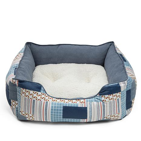 Disney Belle Patchwork Reversible Cushion Pet Bed