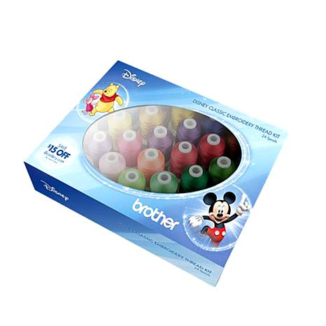 Disney Classic Embroidery Thread Kit