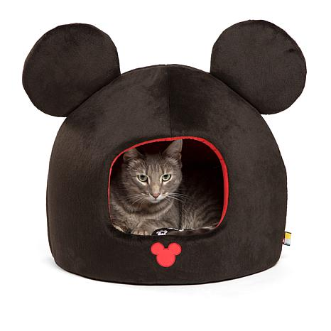 Disney Mickey Mouse Pet Bed with Squeak Toy