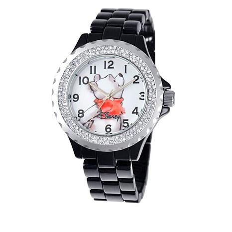 Disney Women's Winnie the Pooh Crystal-Accented Watch