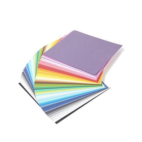 "docrafts Papermania 75-pack 8"" x 8"" Solid Cardstock"